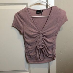 Sinch tie crop top